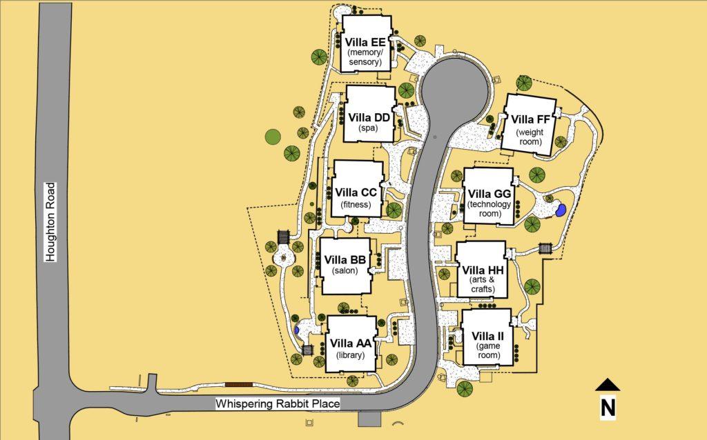 Houghton Neighborhood Map
