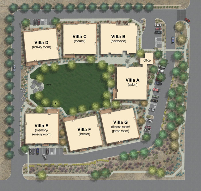 Chandler Grounds Map