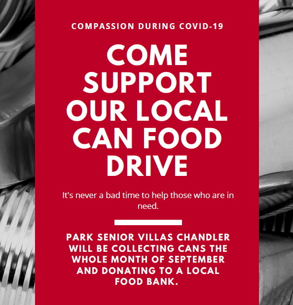 Chandler Canned Food Drive