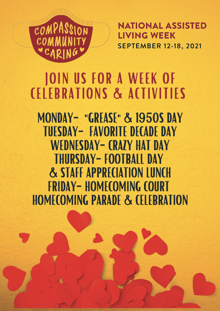 Goodyear National Assisted Living Week 2021